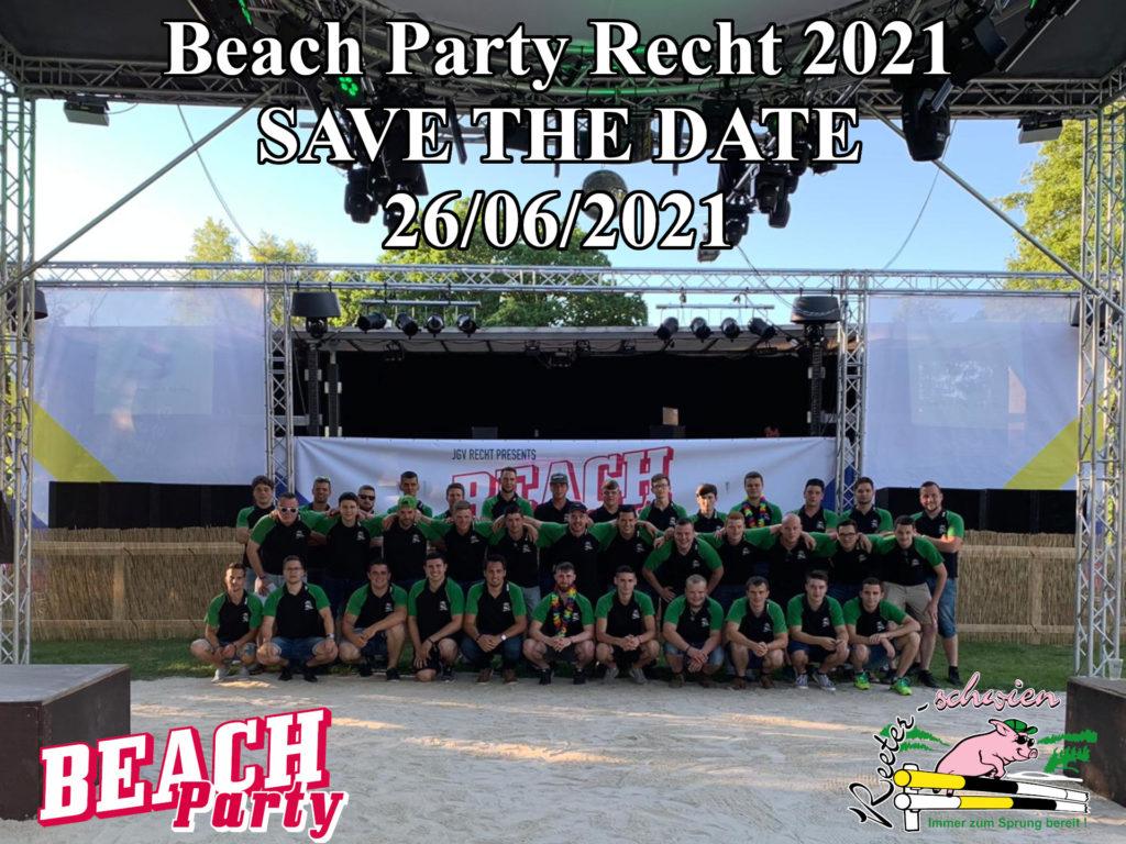 Beach Party Recht 2021